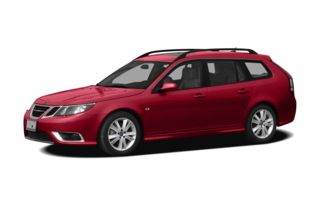 3/4 Front Glamour 2011 Saab 9-3X