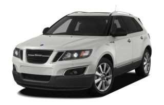 3/4 Front Glamour 2011 Saab 9-4X