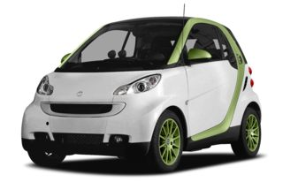 3/4 Front Glamour 2011 smart fortwo electric drive