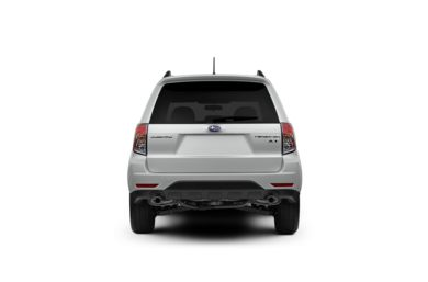 Surround Rear Profile 2011 Subaru Forester