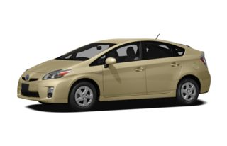 3/4 Front Glamour 2011 Toyota Prius