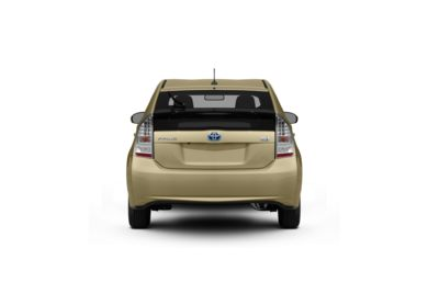 Surround Rear Profile 2011 Toyota Prius