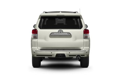 Rear Profile  2011 Toyota 4Runner