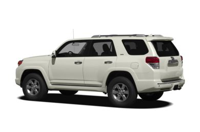 Surround 3/4 Rear - Drivers Side  2011 Toyota 4Runner