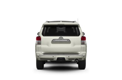 Surround Rear Profile 2011 Toyota 4Runner