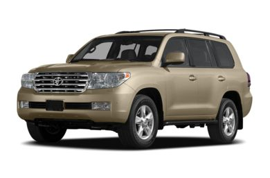 3/4 Front Glamour 2011 Toyota Land Cruiser