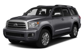 3/4 Front Glamour 2014 Toyota Sequoia