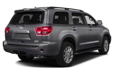 3/4 Rear Glamour  2014 Toyota Sequoia