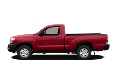 90 Degree Profile 2011 Toyota Tacoma