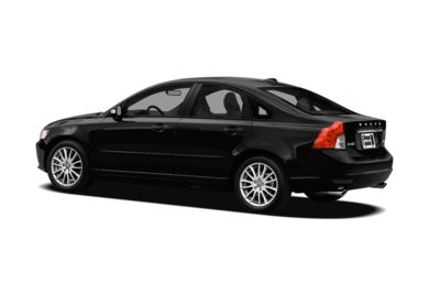 Surround 3/4 Rear - Drivers Side  2011 Volvo S40
