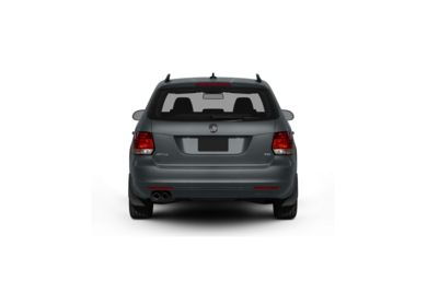 Surround Rear Profile 2011 Volkswagen Jetta SportWagen