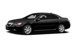 3/4 Front Glamour 2012 Acura RL