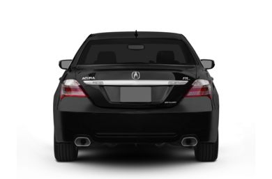 Rear Profile  2012 Acura RL