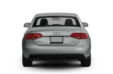 Rear Profile  2012 Audi A4