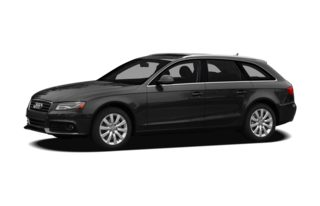 3/4 Front Glamour 2012 Audi A4