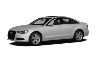3/4 Front Glamour 2012 Audi A6