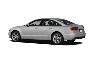Surround 3/4 Rear - Drivers Side  2012 Audi A6