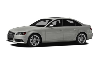 3/4 Front Glamour 2012 Audi S4