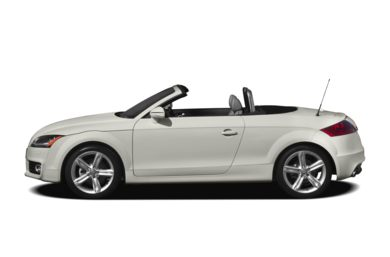 90 Degree Profile 2012 Audi TT