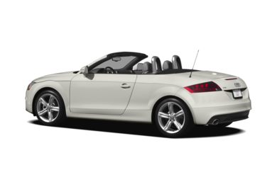 Surround 3/4 Rear - Drivers Side  2012 Audi TT