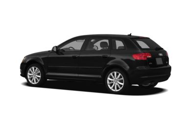 Surround 3/4 Rear - Drivers Side  2012 Audi A3
