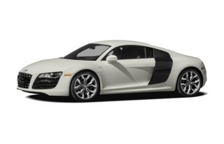 3/4 Front Glamour 2012 Audi R8