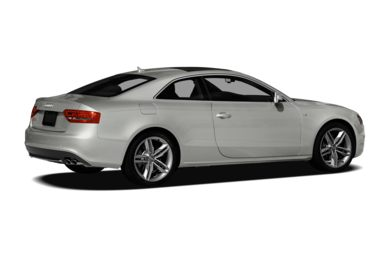 3/4 Rear Glamour  2012 Audi S5