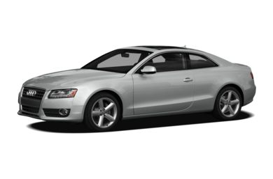 3/4 Front Glamour 2012 Audi A5