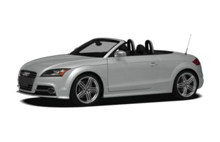 3/4 Front Glamour 2012 Audi TTS