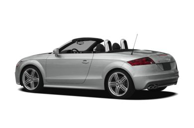 Surround 3/4 Rear - Drivers Side  2012 Audi TTS