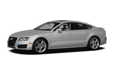 3/4 Front Glamour 2012 Audi A7