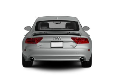 Rear Profile  2012 Audi A7