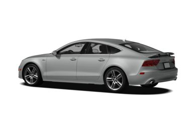 Surround 3/4 Rear - Drivers Side  2012 Audi A7