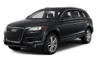 3/4 Front Glamour 2014 Audi Q7