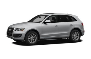 3/4 Front Glamour 2012 Audi Q5