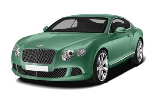 3/4 Front Glamour 2012 Bentley Continental GT