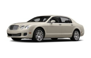 3/4 Front Glamour 2012 Bentley Continental Flying Spur