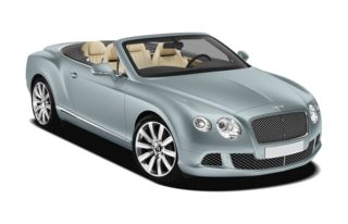 3/4 Front Glamour 2012 Bentley Continental GTC