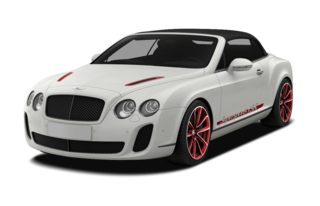 3/4 Front Glamour 2012 Bentley Continental Supersports