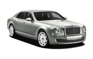 3/4 Front Glamour 2012 Bentley Mulsanne