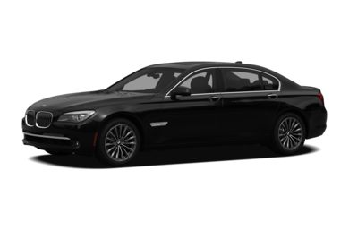 3/4 Front Glamour 2012 BMW 740