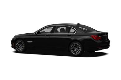 Surround 3/4 Rear - Drivers Side  2012 BMW 740