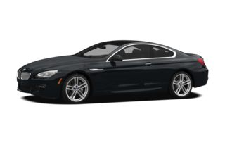 3/4 Front Glamour 2012 BMW 640