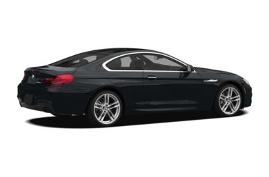 3/4 Rear Glamour  2012 BMW 650