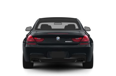 Rear Profile  2012 BMW 640