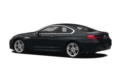 Surround 3/4 Rear - Drivers Side  2012 BMW 640