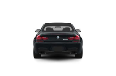 Surround Rear Profile 2012 BMW 640