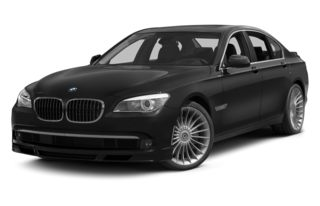 3/4 Front Glamour 2012 BMW ALPINA B7