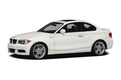 3/4 Front Glamour 2012 BMW 135