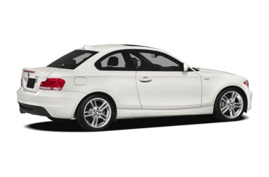 3/4 Rear Glamour  2012 BMW 135